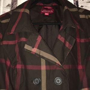 Merona old school trench coat, perfect condition